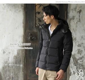 真冬のアウター、ダウンジャケットは光沢の少ないマットなカラー・色のものがオシャレ!